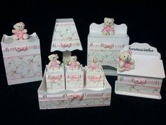 Kit higiene Ursinha Rosa