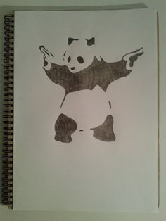 Destroy racism - be like panda - he's black, he's white, he's asian