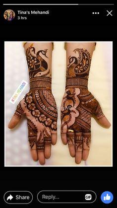 Peacock Mehndi Designs, Latest Bridal Mehndi Designs, Henna Art Designs, Mehndi Designs 2018, Mehndi Designs For Beginners, Mehndi Designs For Girls, Modern Mehndi Designs, Mehndi Design Photos, Wedding Mehndi Designs