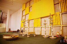 haldi decor themes , Yellow decor for Haldi ,