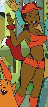 Black, female characters in animation