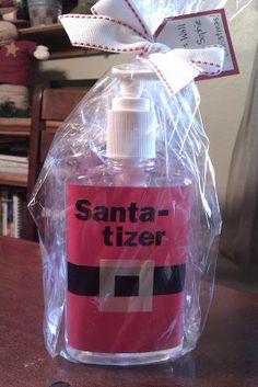 Jen's Happy Spot: Hand Santa-tizer
