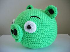 Ravelry: Angry Birds - Pig pattern by Adorable Amigurumi
