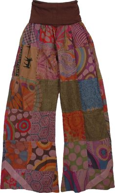 Yajna Lounge Patchwork Pants