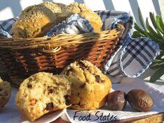 Μαφινς με ελια Cupcake Recipes, Bread Recipes, Muffins, Brunch, Breakfast, Blog, Faith, Birthday, Muffin
