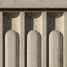 Architectural detail 008: Fluted secession stone columns