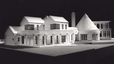 House of the Hamptons - Model by Peter Cook