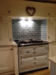 Pearl ashes AGA. Pointing by farrow and ball paint