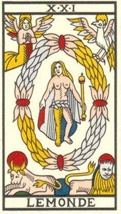 Tarot de Marsella, versión de Jean Noblet restaurada.