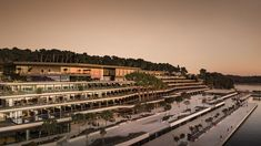 Breathtaking view, the most refined contemporary Italian design and exclusive services are the strengths of the Grand Park Hotel Rovinj, the new elega Rovinj Croatia, Das Hotel, Five Star Hotel, Top Destinations, Am Meer, Grand Hotel, Paris Skyline, Facade, Tourism