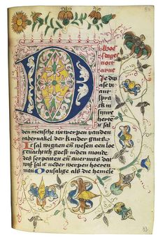 BOOK OF HOURS AND PRAYERBOOK, in Dutch, ILLUMINATED MANUSCRIPT ON VELLUM AND PAPER