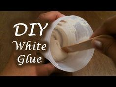 Homemade Elmer's Glue for Slime - Non toxic & Eco Friendly - YouTube