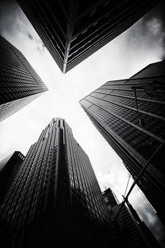 #blackandwhite #towers