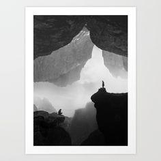 Parallel Isolation Art Print by Stoian Hitrov - Sto - X-Small Edward Hopper Paintings, Cool Abstract Art, Space Artwork, Art Sketchbook, White Art, Art Market, Pop Art, Illustration Art, Art Prints