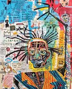 These Pop Art Artists Got Us Completely Swept Away! Jean Michel Basquiat Art, Jm Basquiat, Basquiat Artist, Basquiat Paintings, Art Brut, Outsider Art, Psychedelic Art, Art Plastique, Art Sketchbook