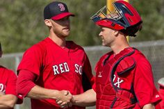 New catcher David Ross is very well-received among Red Sox