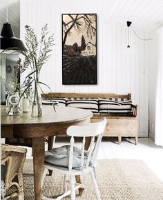 """""""All Roads Lead Home"""" 15 x 30 Donation to Children's wish foundation Painting Wood Paneling, Australia House, Modern Farmhouse Style, My Dream Home, Decorating Your Home, Dining Bench, Shabby Chic, Painted Wood, Country Living"""