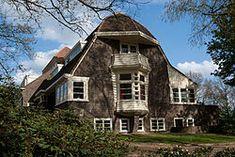 amsterdamse school, Wageningen, the Netherlands, Brick Architecture, Interior Architecture, Art Deco, Art Nouveau, Amsterdam School, Bauhaus, Dutch House, Construction Design, Urban Planning