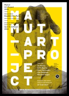 Catalog, poster, website and identity for the second season of MAMUT ART PROJECT, an affordable art fair that takes place in Istanbul and gives young artists a chance to be on display most usually for the first time in their artistic career.