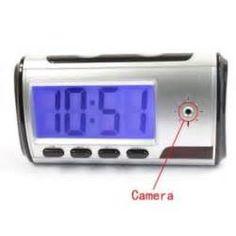 Search Mini digital alarm clock hidden camera. Views 85433.