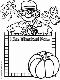 Thankful Worksheet Preschool