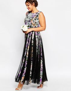 fall floral gown