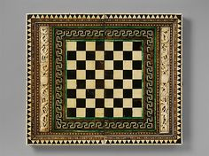 Folding Game Board century ~ Venice, Italy ~ Bone, wood, horn, stain and gilding over wood core with metal mounts ~ Metropolitan Museum of Art Medieval Games, Medieval Art, Fine Art Prints, Framed Prints, Canvas Prints, Renaissance, Italy Culture, Medieval Furniture, Antique Furniture