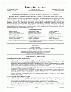 Executive Resume Examples The Top 4 Executive Resume Examples Writtena Professional