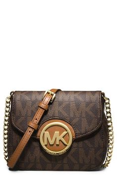 c7727a3e5d83 MICHAEL Michael Kors 'Fulton' Crossbody Bag available at #Nordstrom Small  Crossbody Bag,