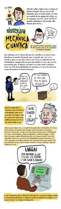 El misterioso mundo de la mecánica cuántica. Einstein, Introvert, World, Simple, Science