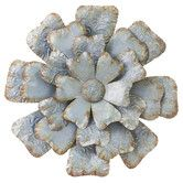Found it at Wayfair - Vintage Rusted Tin Metal Flower Wall Décor