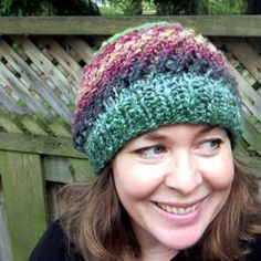 Now here's a one-skein wonder! The Spin Cycle Hat is a gorgeous knit hat pattern that takes only (you guessed it!) one skein of yarn to complete.
