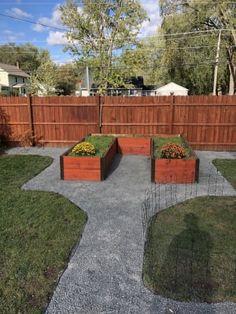 View Gallery Image #1 Cedar Garden, Garden Paths, Raised Bed Garden Design, Tiered Garden, Sloped Garden, Garden Planner, Garden Boxes, Garden Ideas, Small Space Gardening