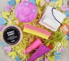 LUSH COSMETICS EASTER