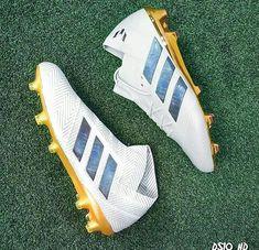 timeless design 518e7 af2cc White Gold Adidas Nemeziz 18+