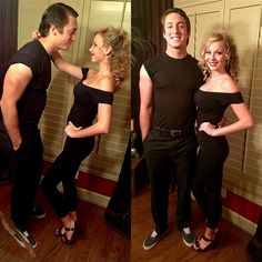 Danny and Sandy halloween costume!