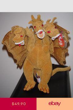 Godzilla Ghidora & Mothra Ty Beanie Babies Value: 20 - ??? Available
