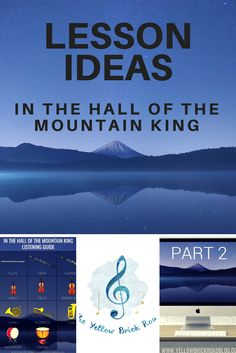 """A great lesson idea and freebie for In the Hall of the Mountain King. Students use the free listening guide to learn about different instruments in the piece. Music Lesson Plans, Music Lessons, Music Education Activities, Listening Activities, Active Listening, Music Classroom, Music Teachers, Classroom Ideas, Middle School Music"