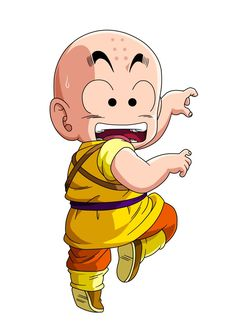 Krillin (Dragon Ball) (c) 1986 Toei Animation, Funimation & Sony Pictures Television Anime Chibi, Anime Art, Anime Comics, Fan Art, Akira, Illustrations, Anime Characters, Character Design, Sketches