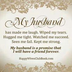 I love my husband Mike so much.