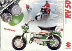 Moped Photo Gallery - 1977 Suzuki RV50