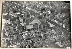 KLM Albert plesman - Set van 23 vooroorlogse glanzend zw/w foto's van het centrum van Rotterdam (1922-1939) - Papier Rotterdam, Paris Skyline, City Photo, Travel, Bonito, Paper, Historical Photos, Nostalgia, Viajes