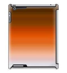 Uncommon LLC Deflector Hard Case for iPad 2/3/4, Orange Brown Gradient (C0070-OM)