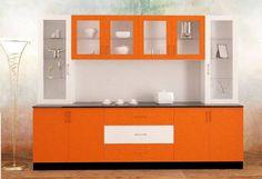 Image result for L-shaped crockery unit Kitchen Cabinet Remodel, Modern Kitchen Cabinets, Kitchen Cabinet Colors, Kitchen Layout, Kitchen Furniture, Kitchen Interior, Interior Design Living Room, Kitchen Design, Crockery Cabinet