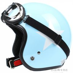 Aliexpress.com : Buy Free shipping Fashion Halley Beon vintage motorcycle helmet,electric bicycle half face helmet,lucky star, ECE Approved ...