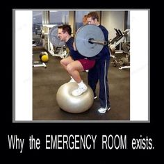 Why the emergency room exists. (Just not smart.)