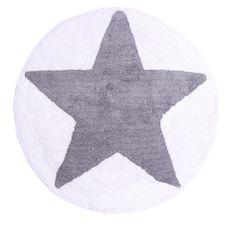 Dywanik łazienkowy Star grey