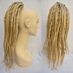 Try before you commit??  Clip ON Ponytail Dreadlocks Hair Falls Dreads