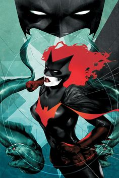 Batwoman cover 9 by Ben Oliver by JH Williams III, via Flickr