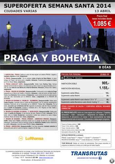 PRAGA y Bohemia / 8 días ¡¡Superoferta Semana Santa: 13 Abril!! ultimo minuto - http://zocotours.com/praga-y-bohemia-8-dias-superoferta-semana-santa-13-abril-ultimo-minuto-2/